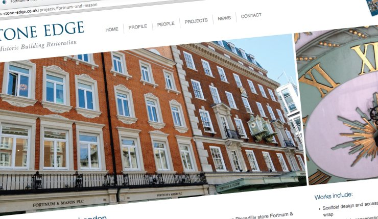 Stone Edge - Website Design