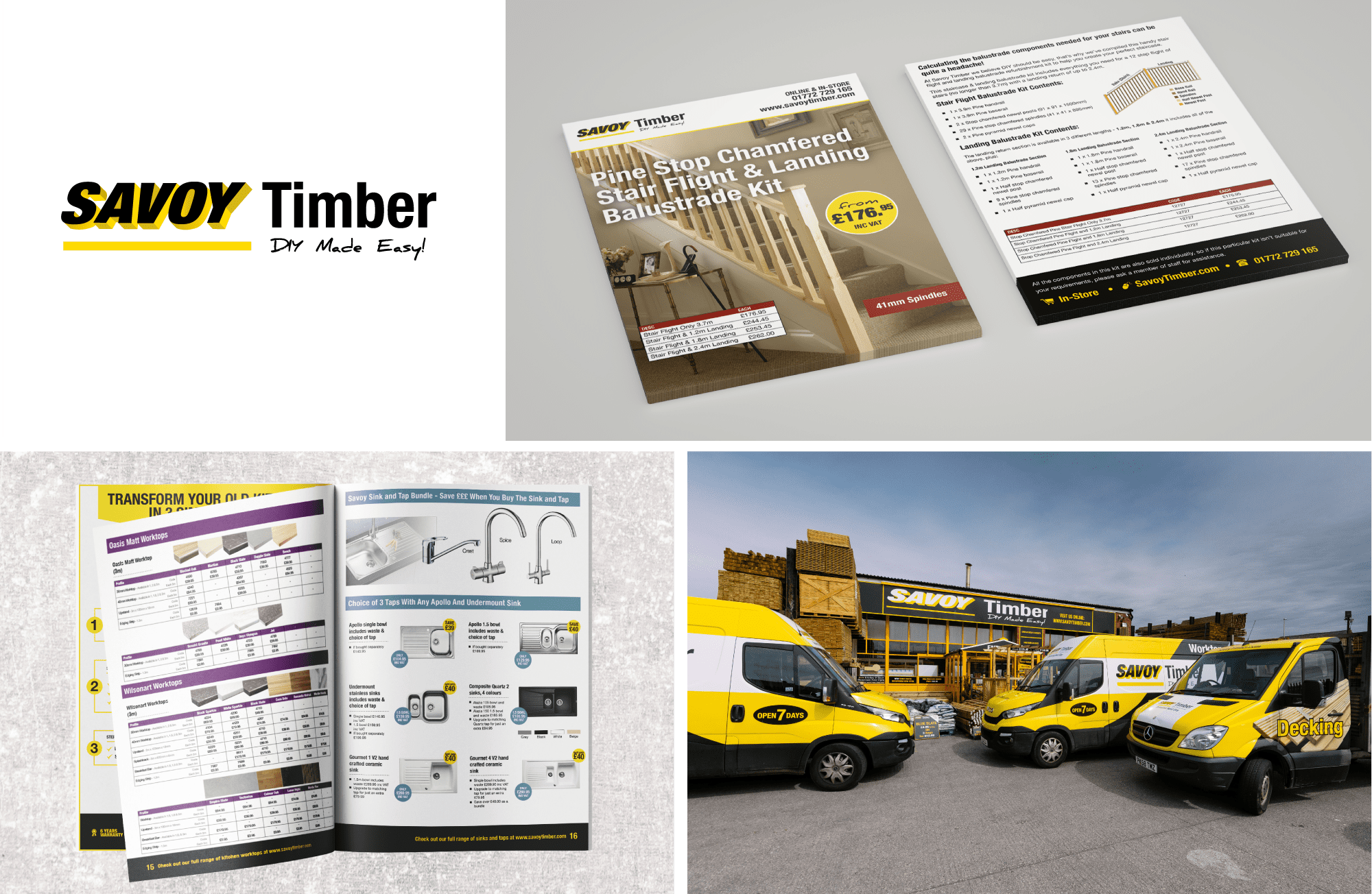 Savoy Timber - Graphic Design