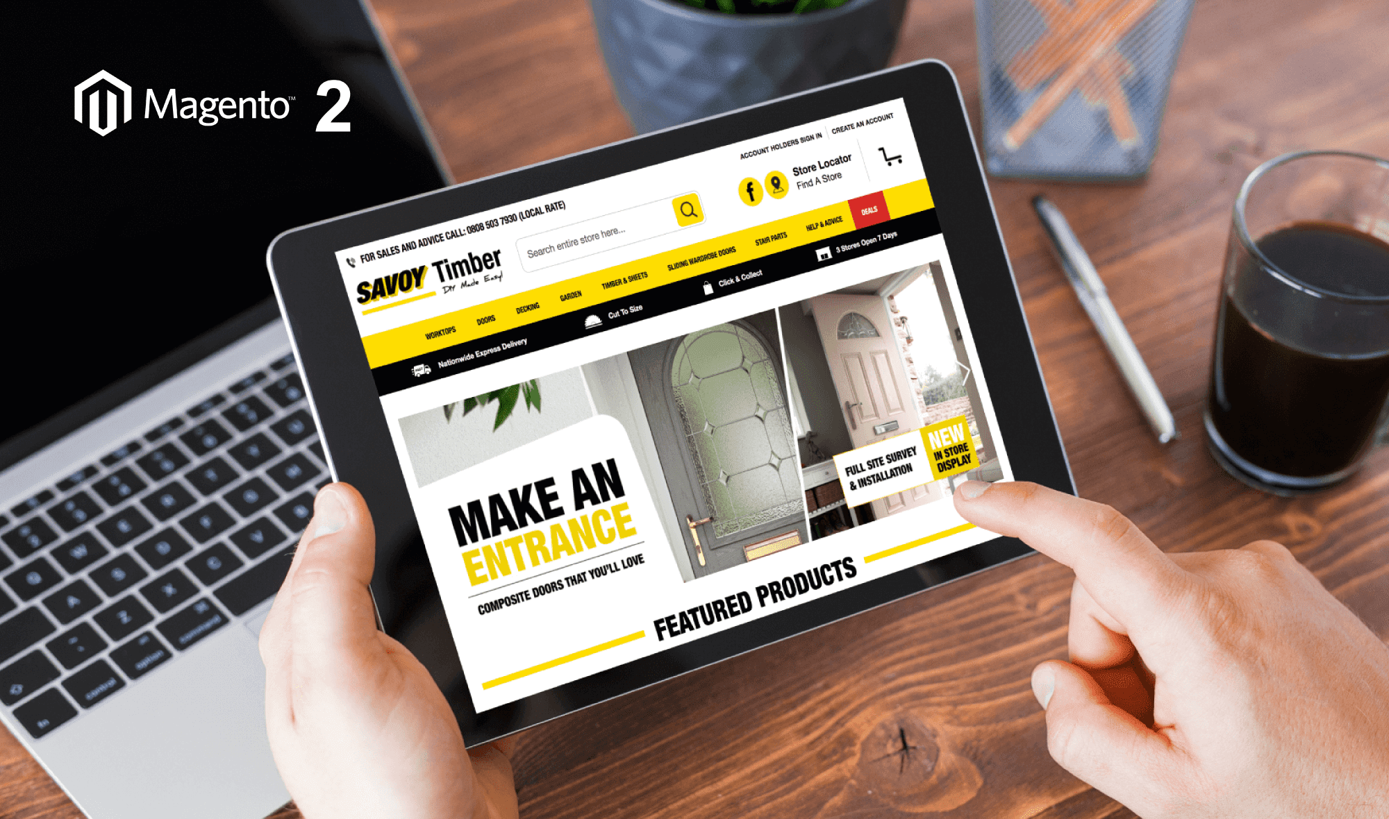 Savoy Timber - Magento 2 Website