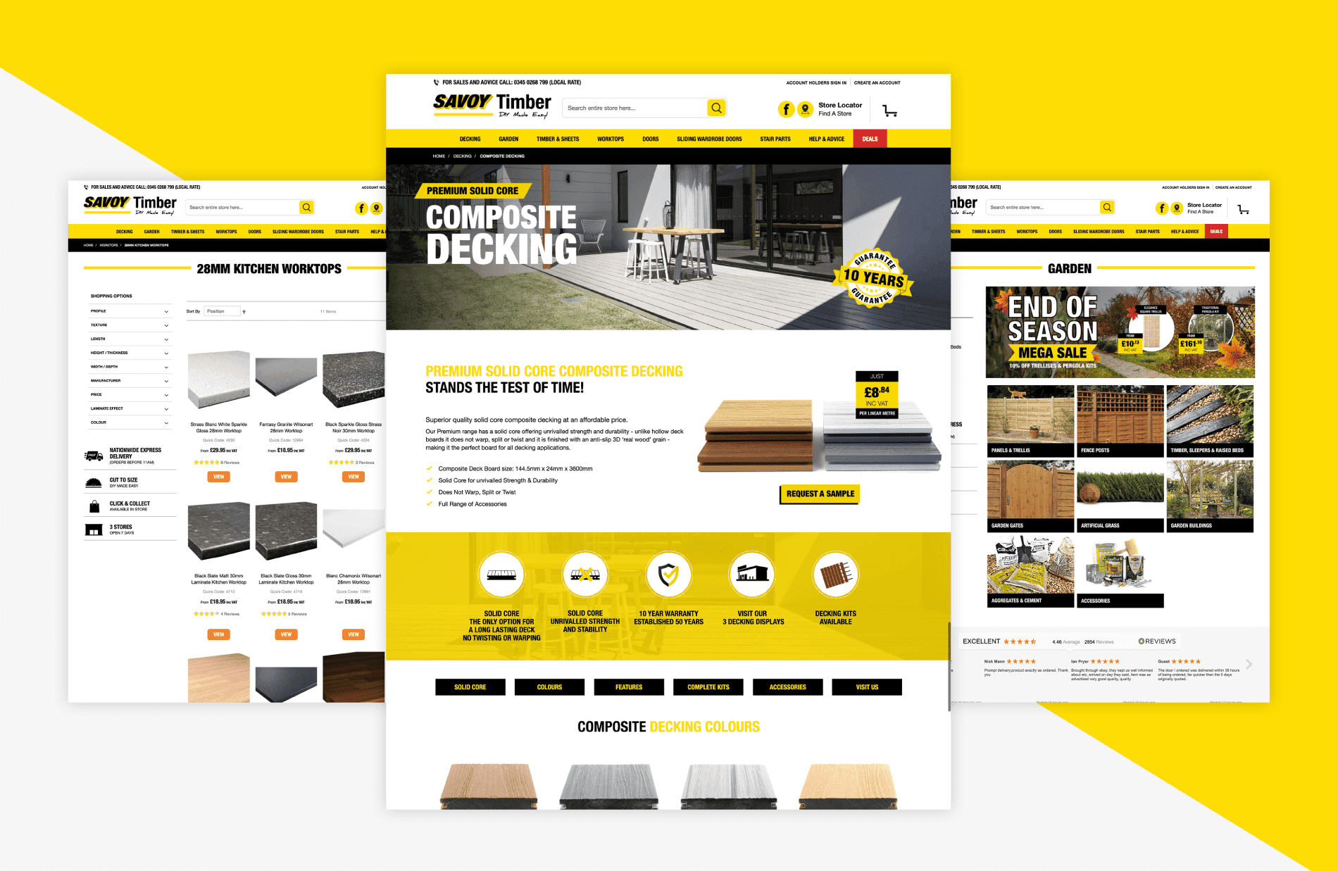 Savoy Timber - Magento 2 Web Development
