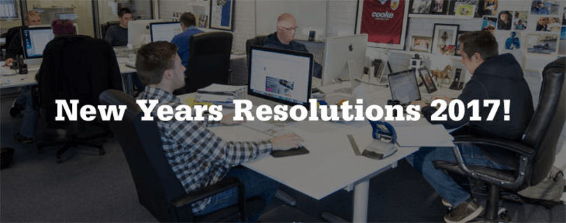 our new years resolutions for 2017