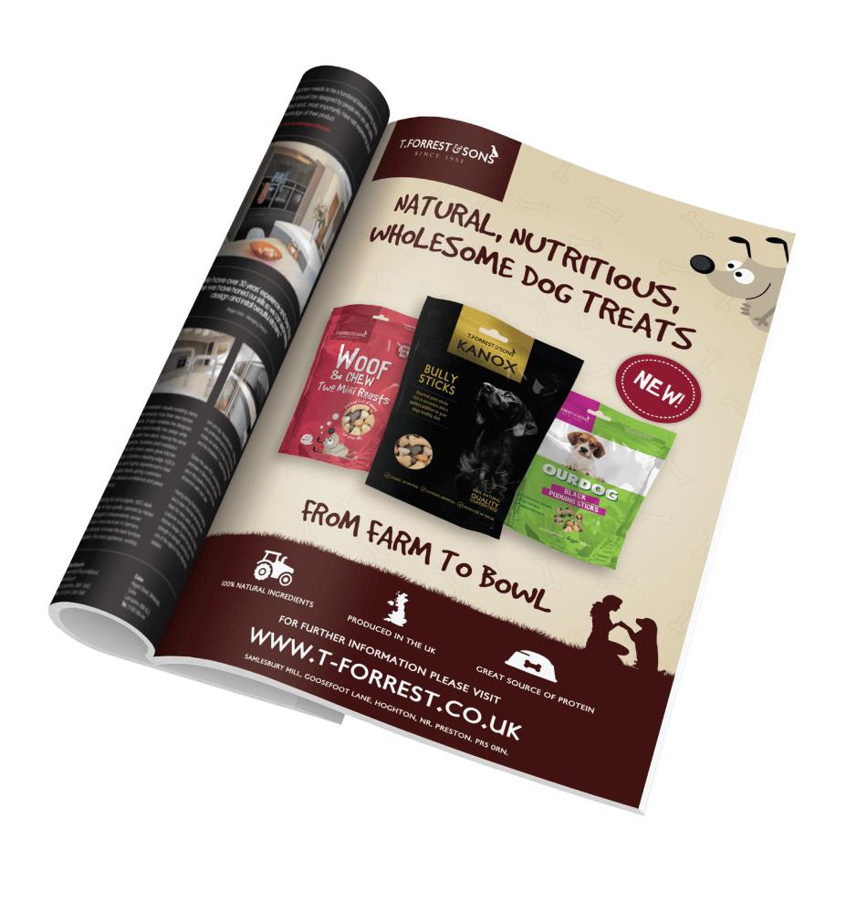 T-Forrest & Sons - Magazine Advert Design