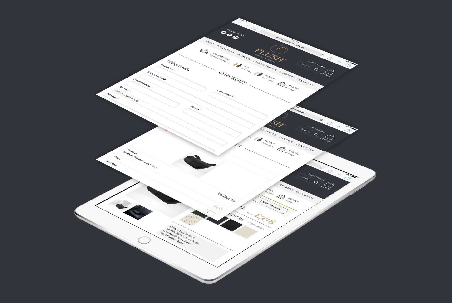 PLUSH E-Commerce Website