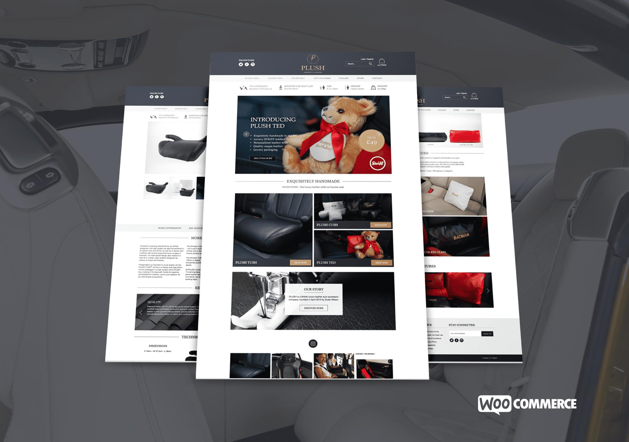 Plush - Website Design