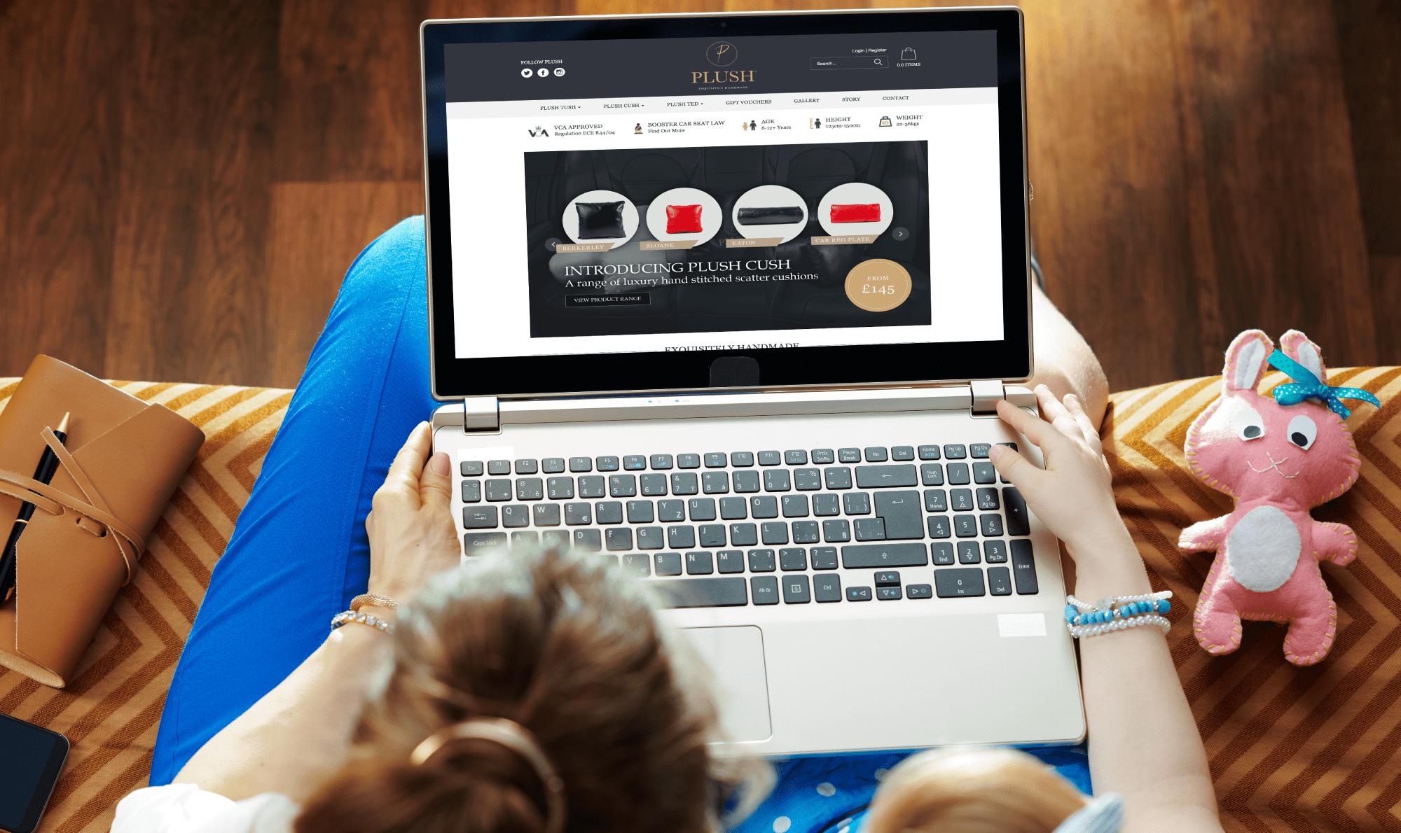 Plush - WordPress Website