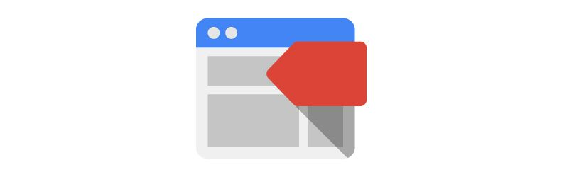 google tag manager icon
