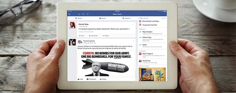 did social media dark advertisements influence the uk election feature image