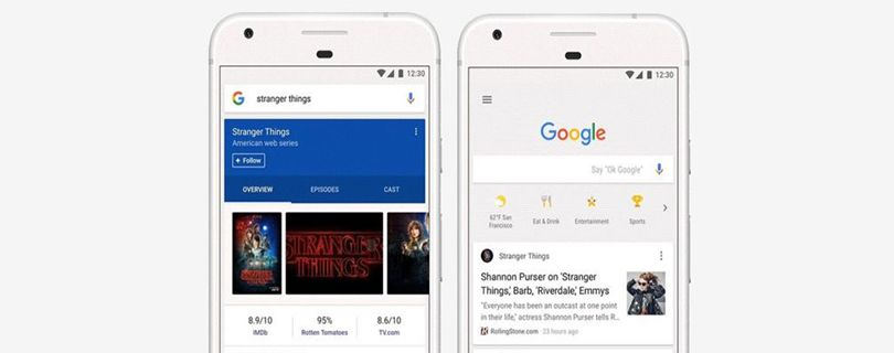 google brings a brand new news feed to its mobile homepage feature image