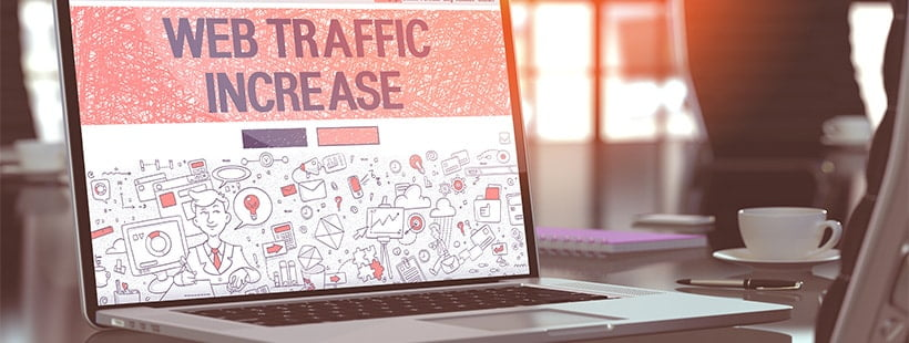 web traffic increase