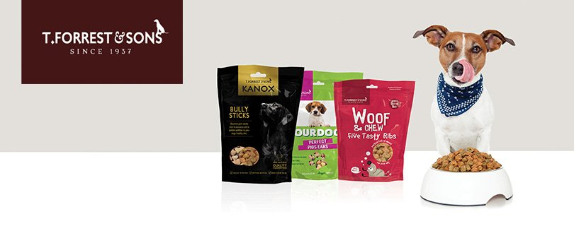 dog treat manufacturer unveils delicious new brand and packaging feature image