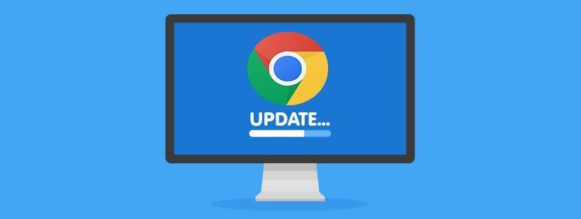 google chrome updating