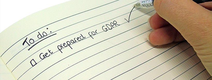 preparing checklist