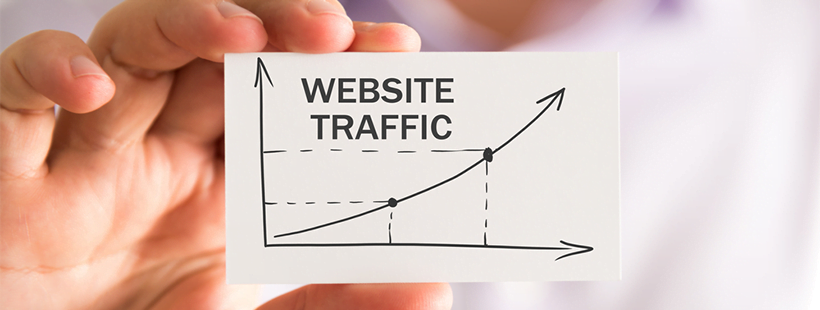 website traffic rising
