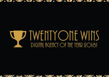 Twentyone wins Digital Agency of the Year 2018!