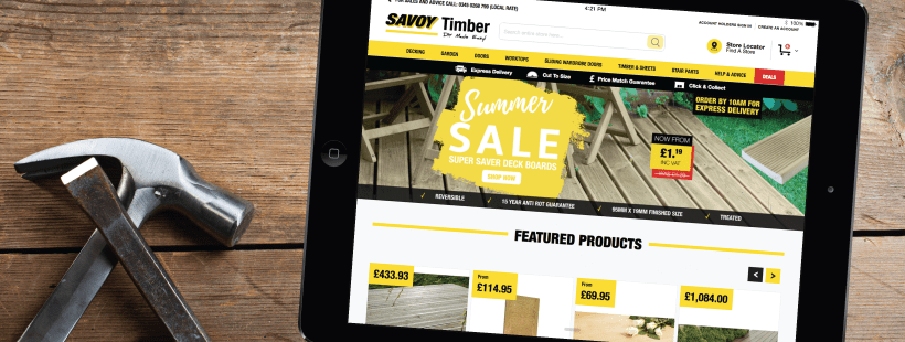 New Magento 2 Website For Savoy Timber