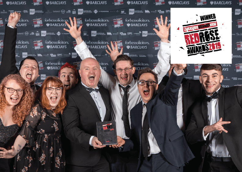 21Digital wins Best Digital Business 2019 at the Red Rose Awards!