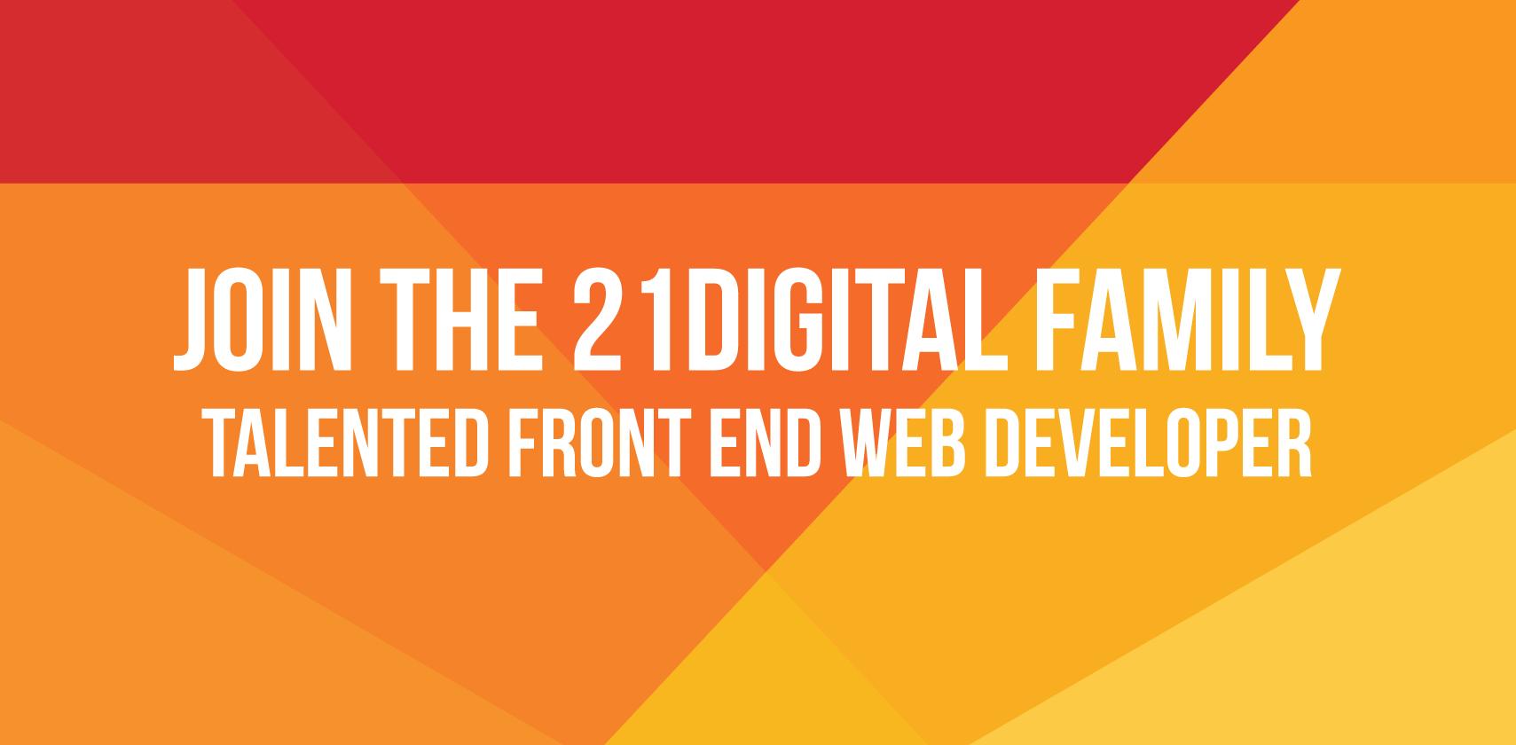 Talented Front End Web Developer