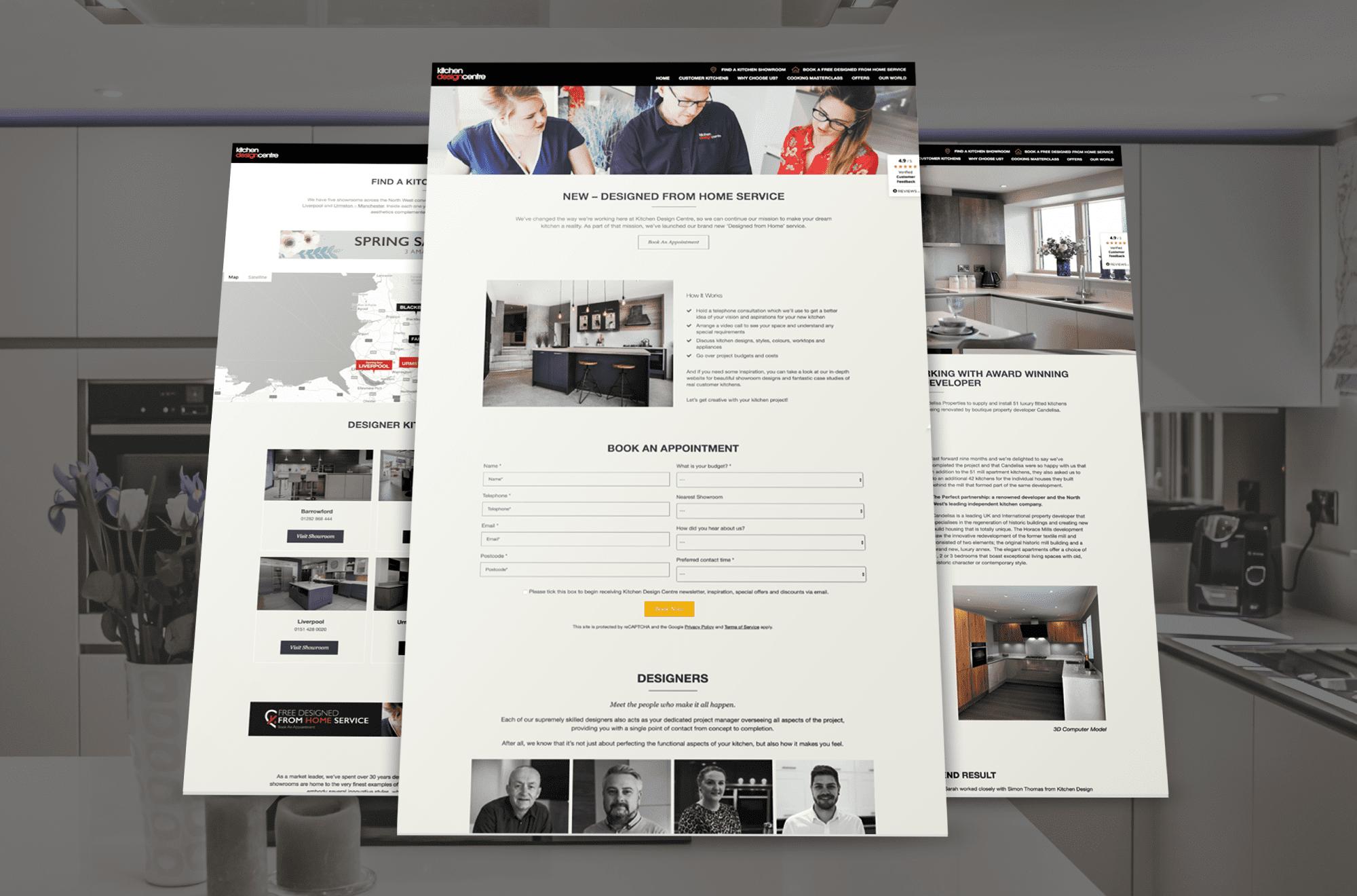 Kitchen Design Centre - Website Design