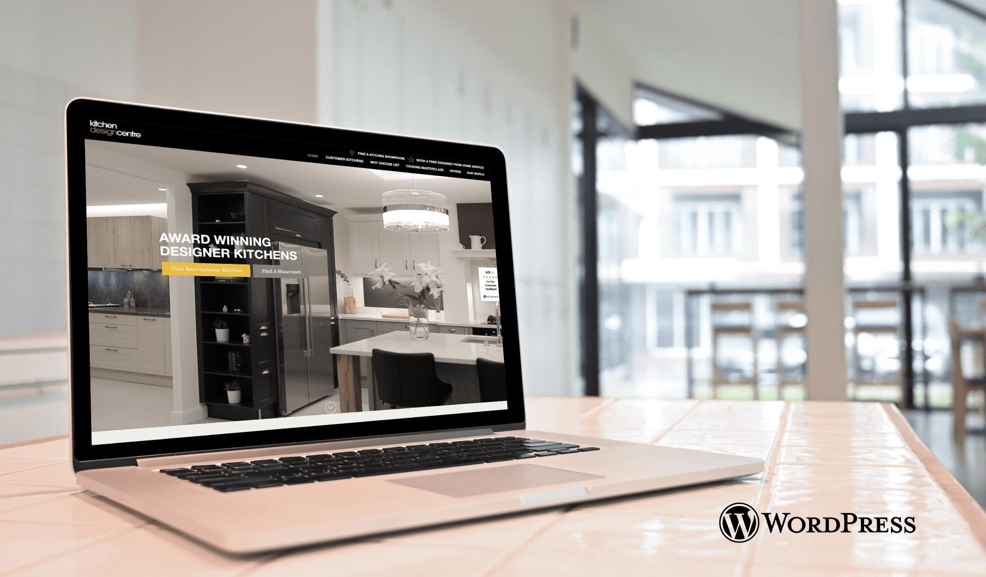Kitchen Design Centre - WordPress Website