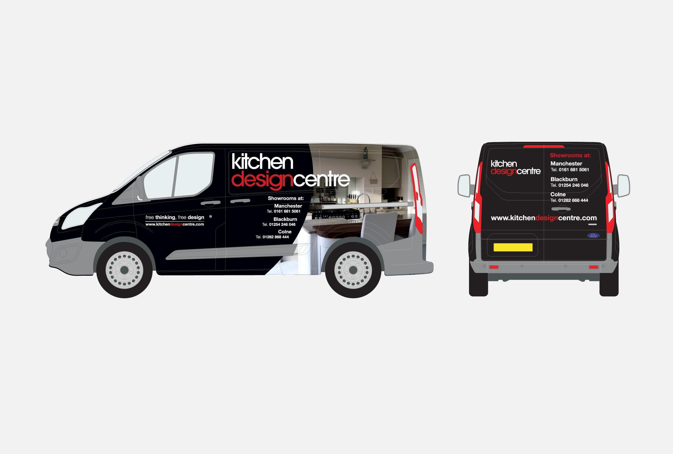 Kitchen Design Centre - Van Wrap