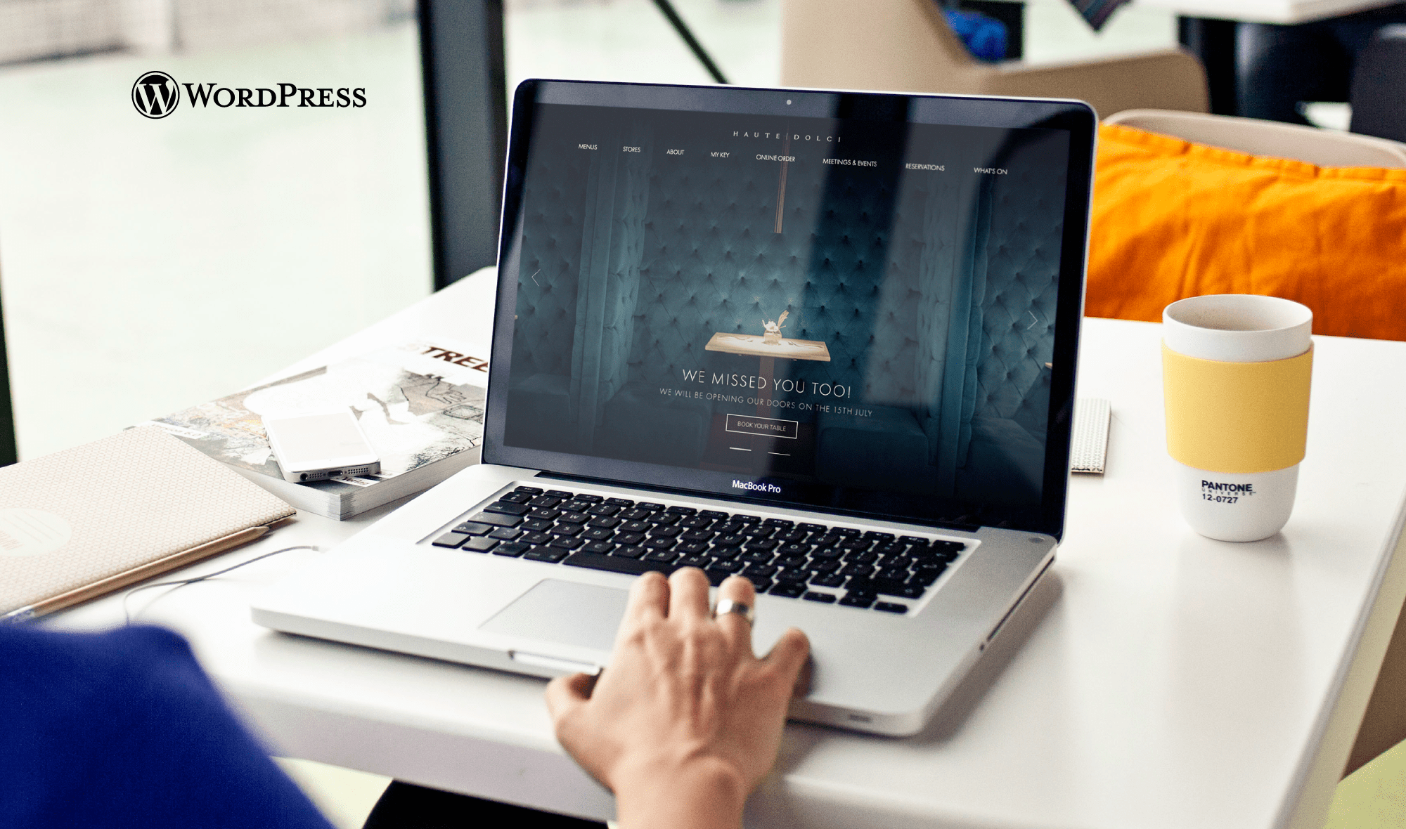 Haute Dolci - Wordpress Website