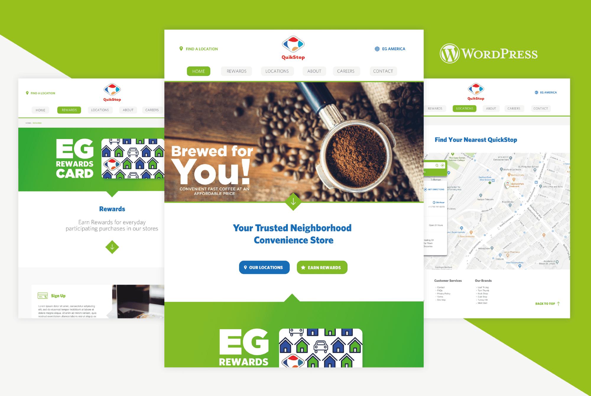 Euro Garages - WordPress Website Design