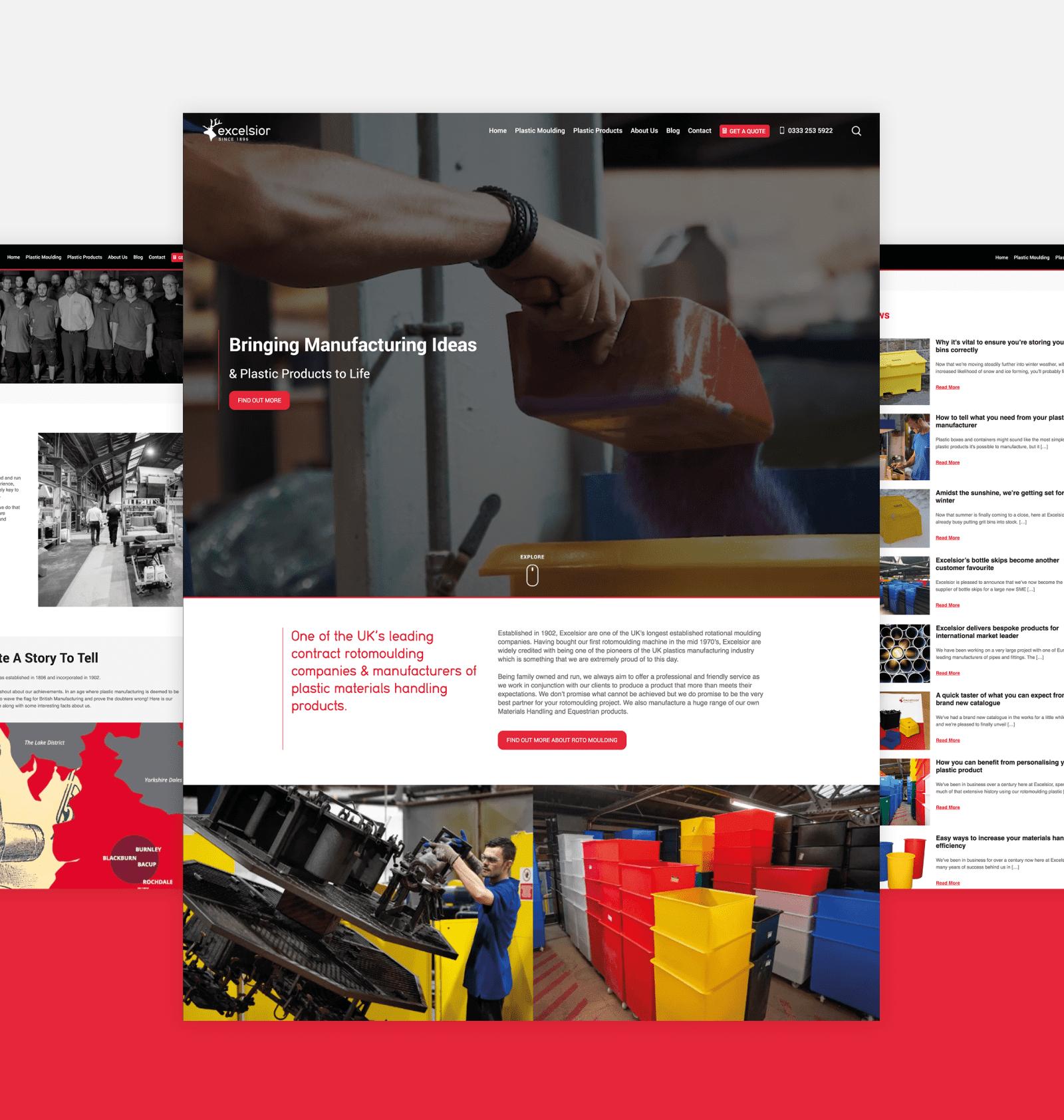 Excelsior - Web Design
