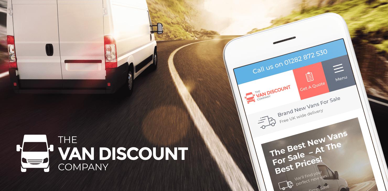 New website puts Van Discount on the road to success