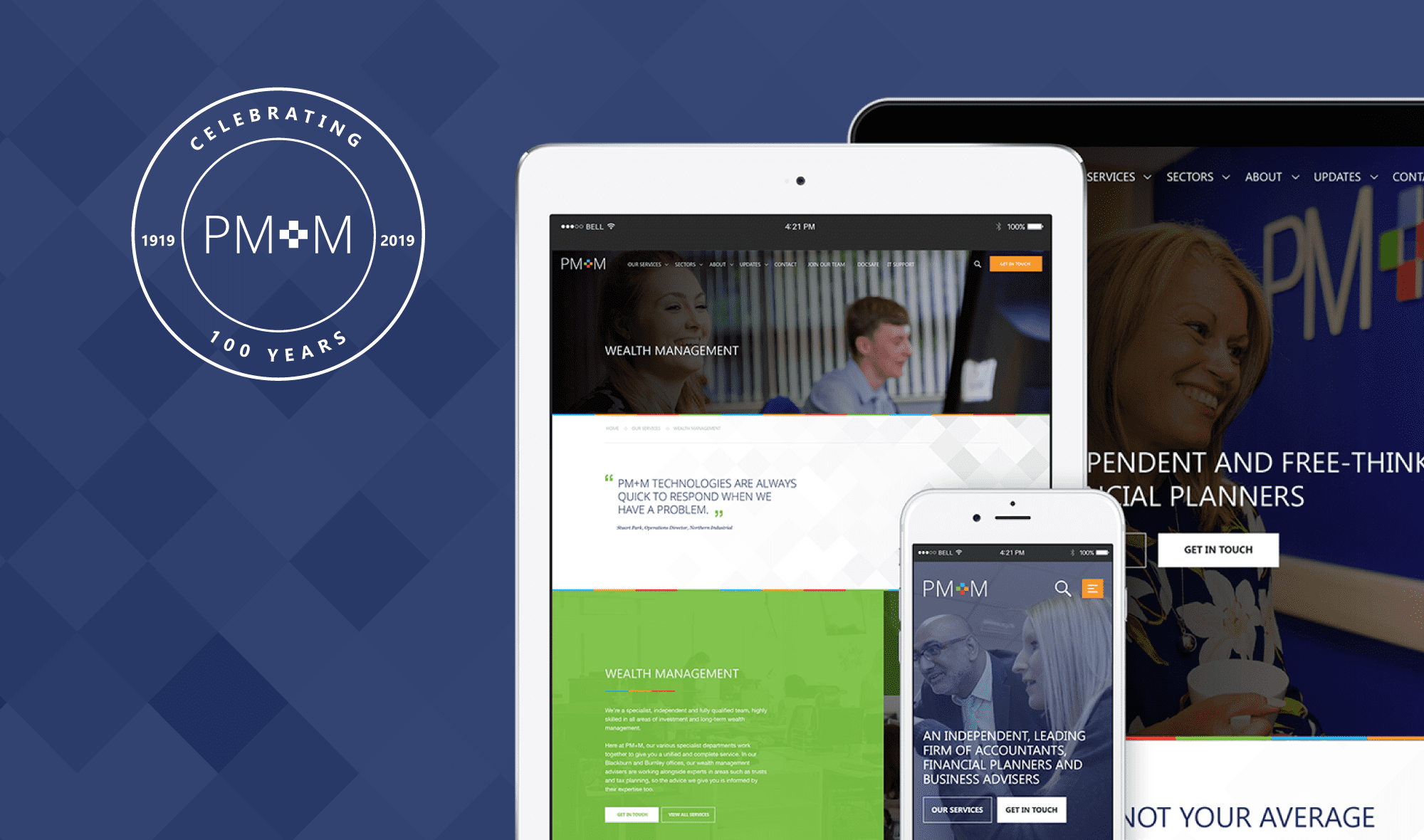 PM+M - Responsive Web Design