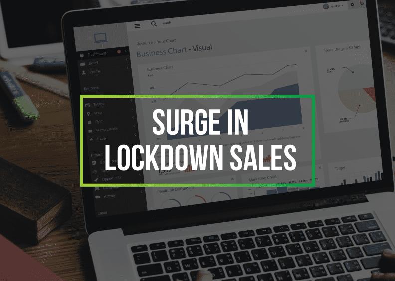 21Digital clients see surge in lockdown sales
