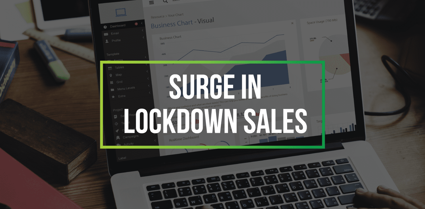 21Digital clients see surge in lockdown sales
