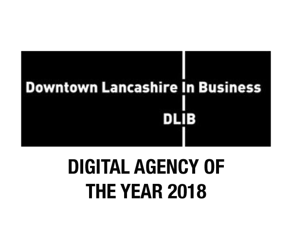 2018 Lancashire Downtown In Business / Digital Agency Of The Year Award