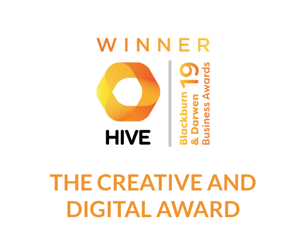 2019 The Hive Blackburn & Darwen Business Awards / The Creative & Digital Award