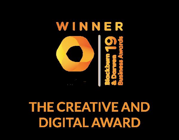 2019 The Hive Blackburn & Darwen Business Awards / The Creative & Digital Award