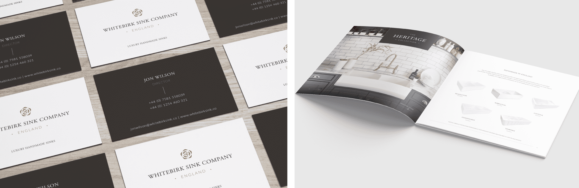 Whitebirk Sink Company - Graphic Design