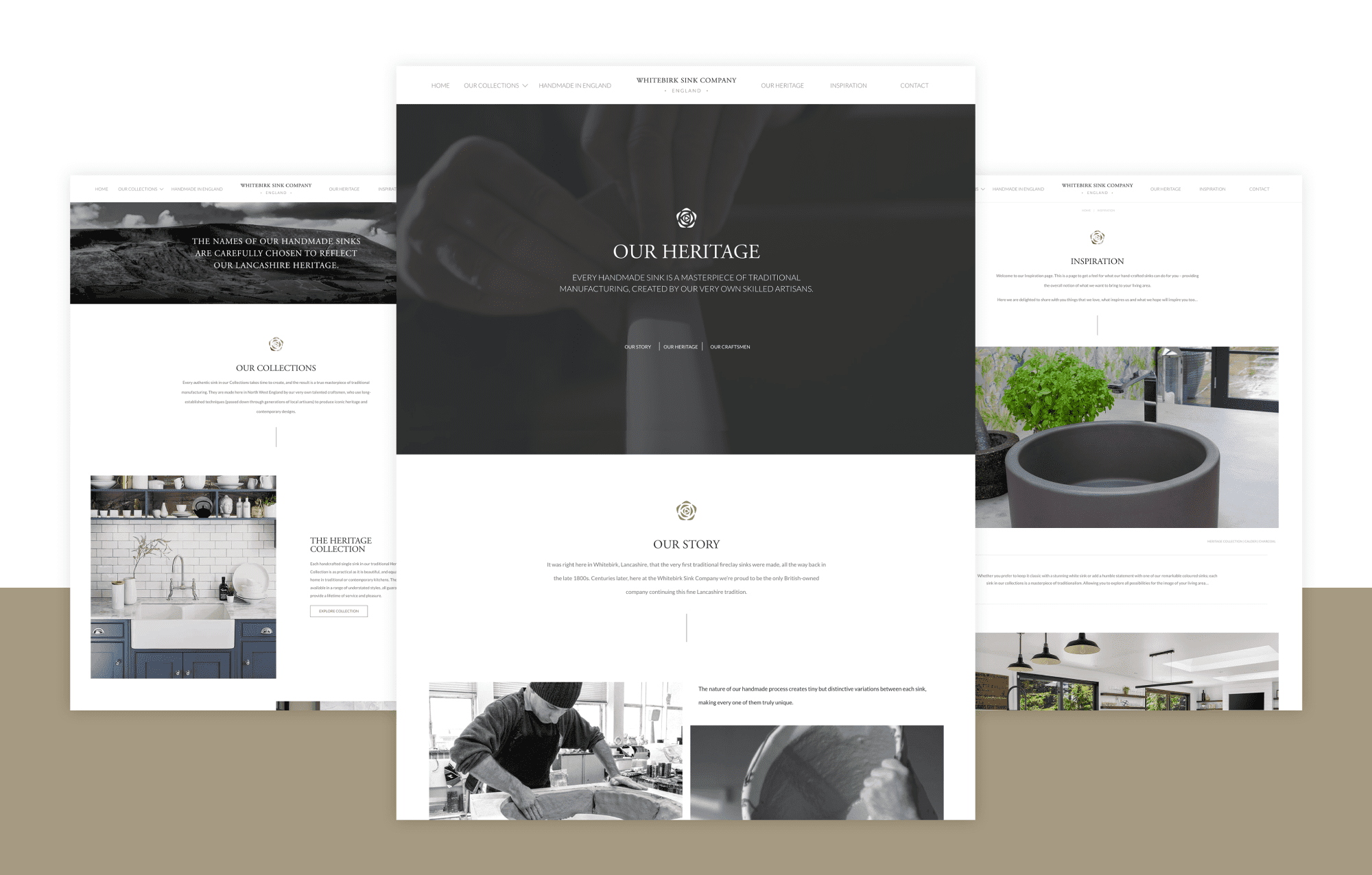 Whitebirk Sink Company - Website Design