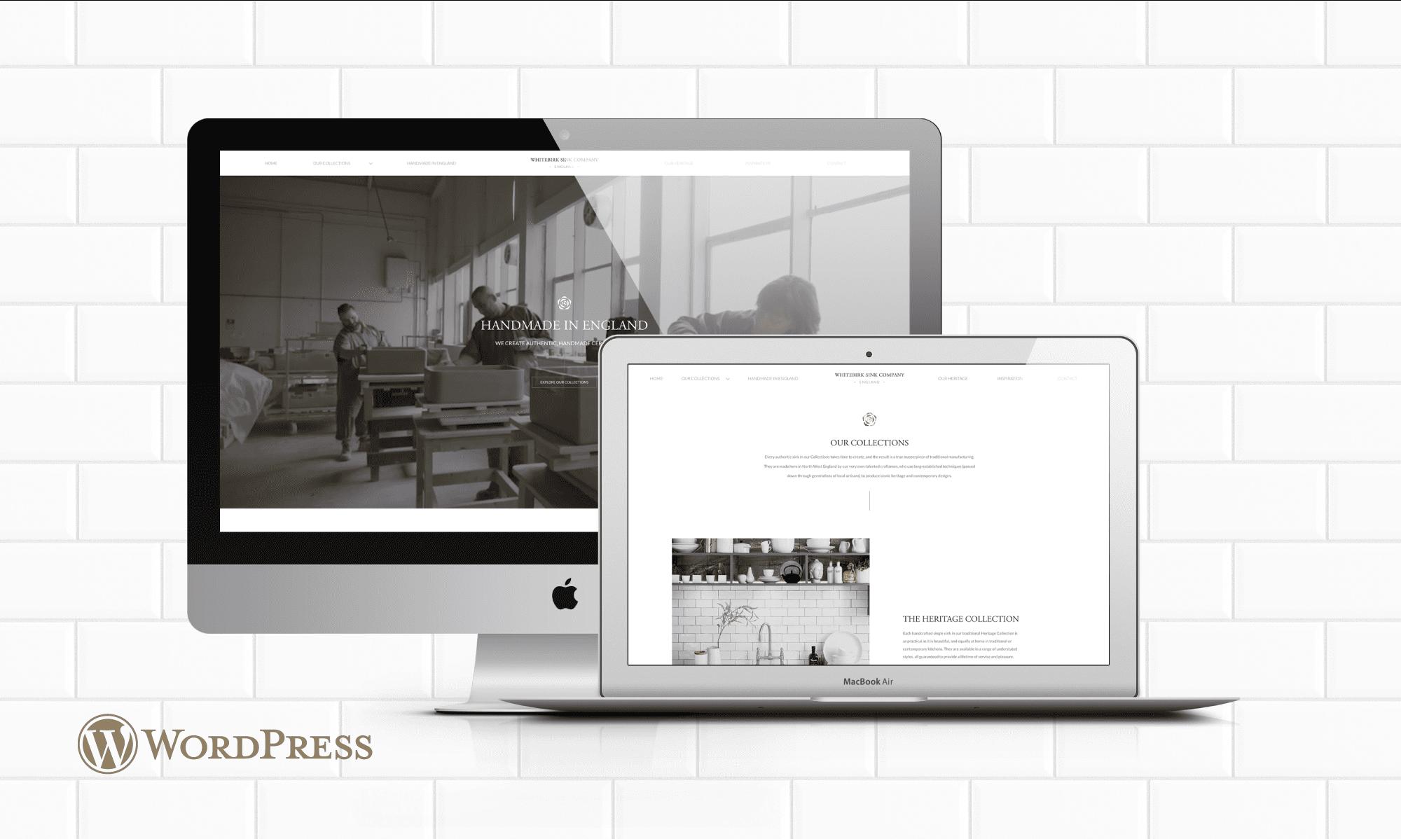 Whitebirk Sink Company - WordPress Website