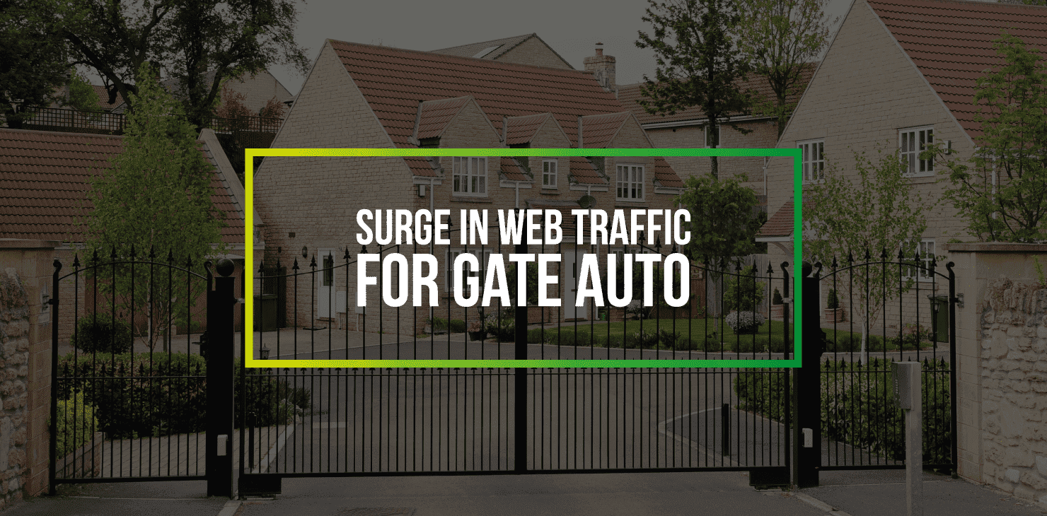 Surge In Web Traffic For Gate Auto