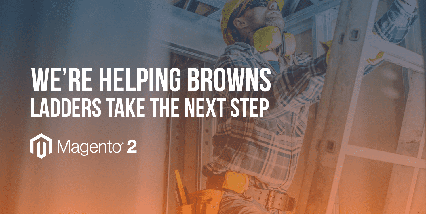 New website poised to take Browns Ladders 'a step above!'