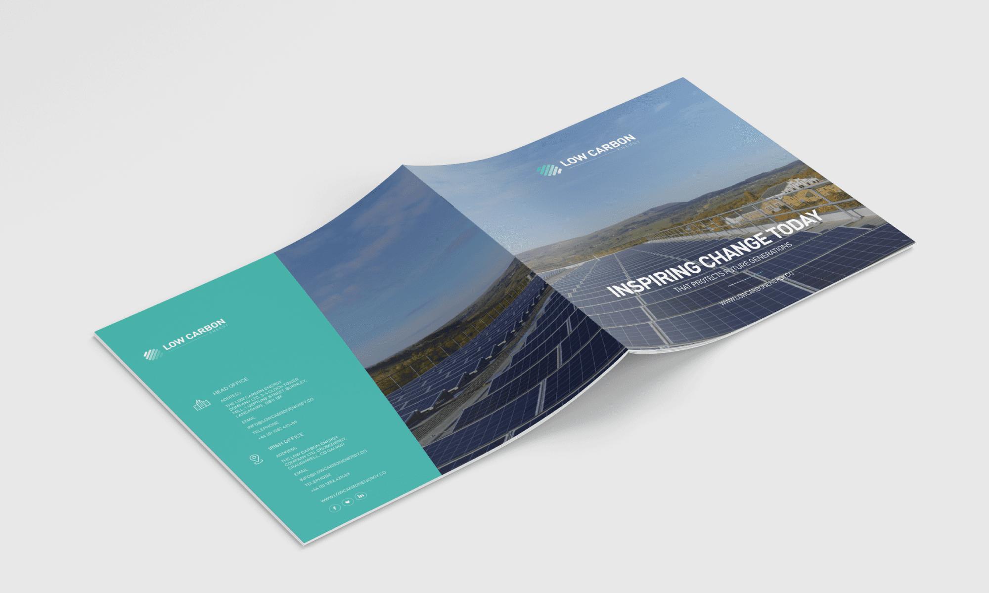 Low Carbon Energy - Brochure Design