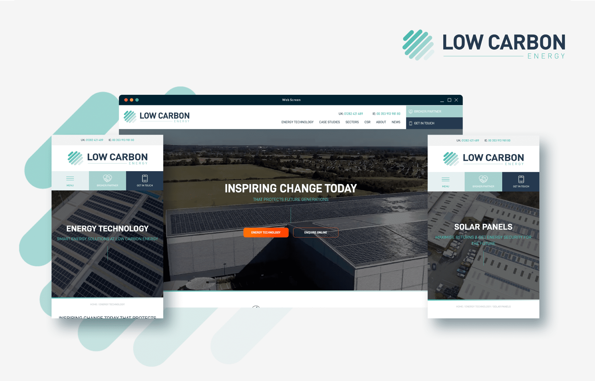 Low Carbon Energy shines with new website from 21Digital