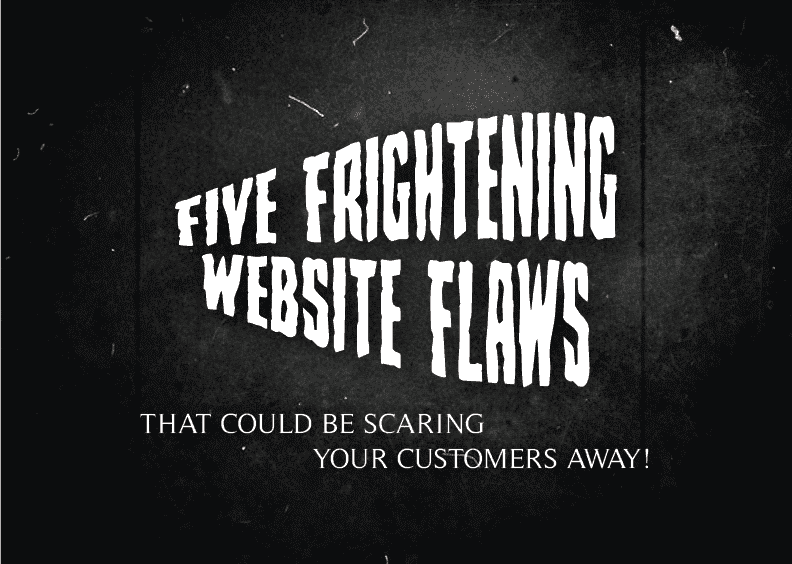 5 frightening website flaws