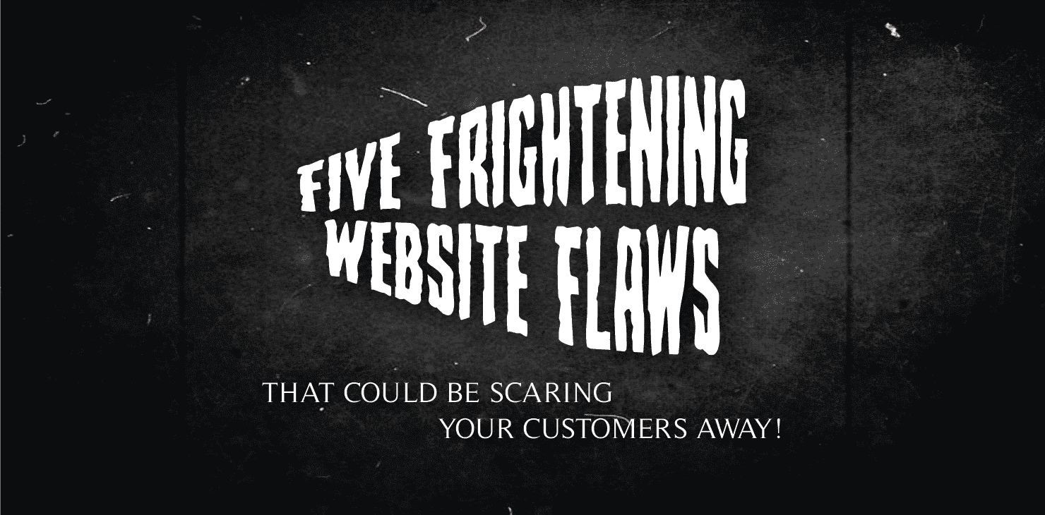 5 frightening website flaws