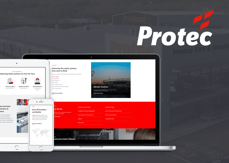21Digital launches cutting edge new website for Protec