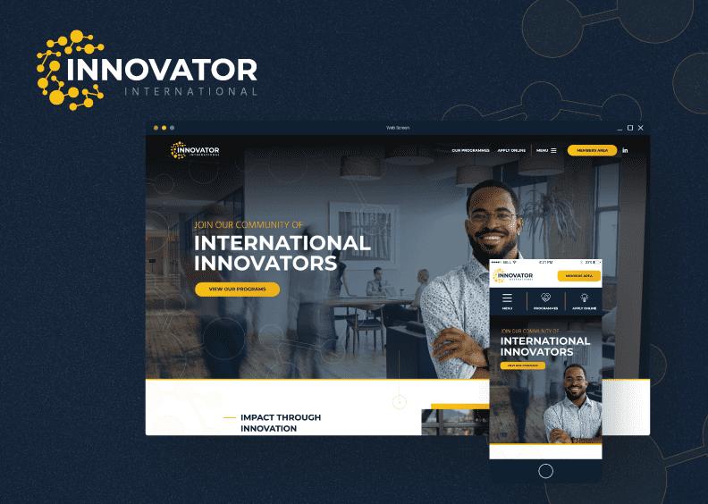 21Digital launches world-class website for Innovator International