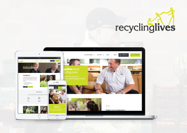 21Digital unveils new website for Recycling Lives Charity