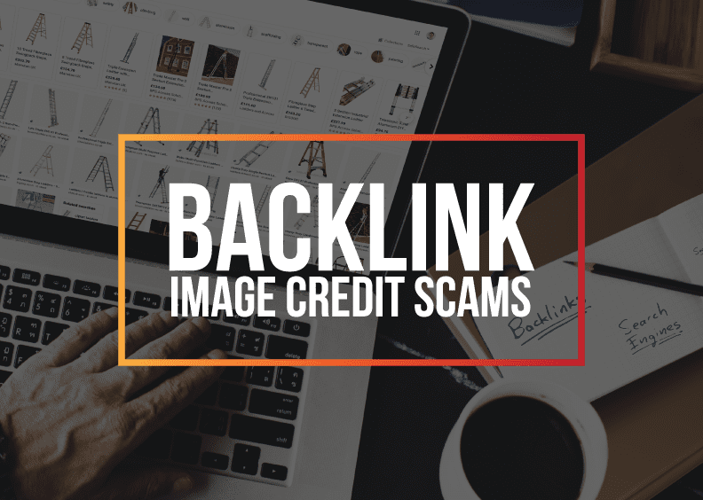 Backlink image credit scams - the newest black-hat SEO tactic