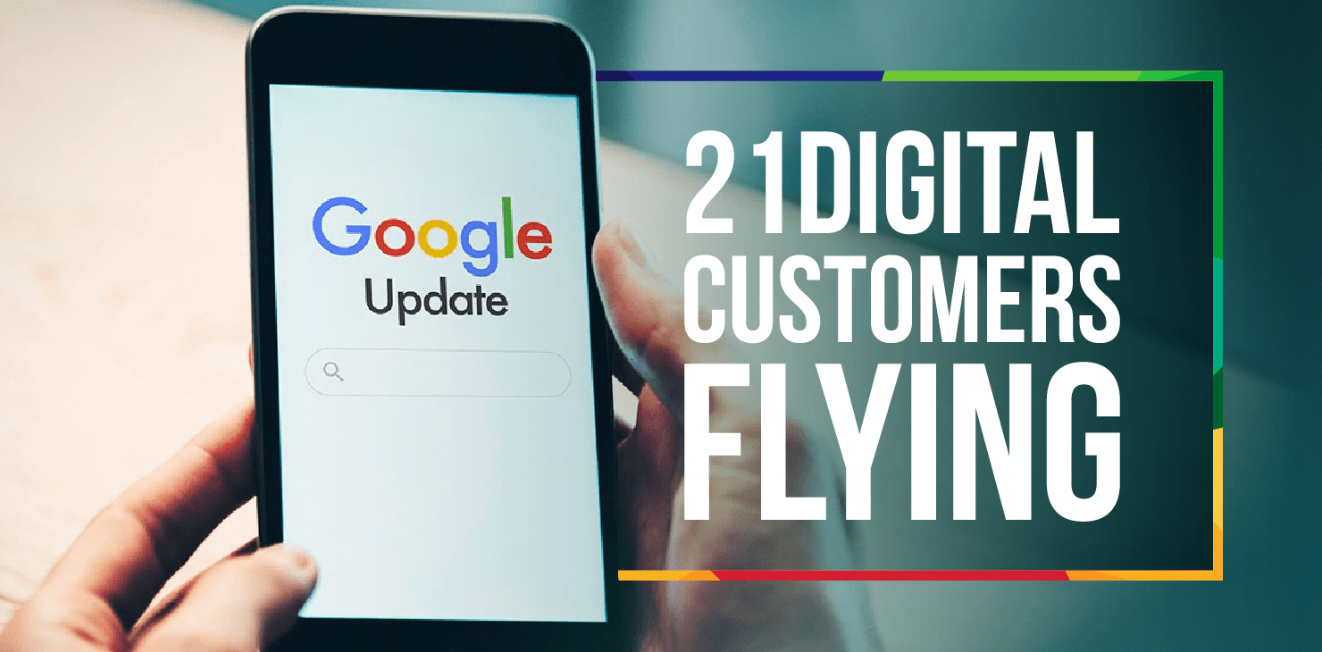 21Digital customers flying after Google's December Core Update