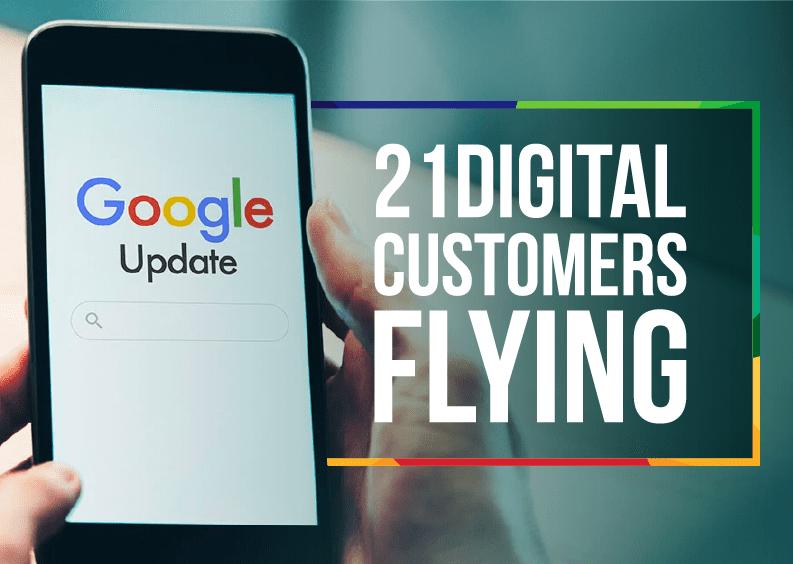 21Digital customers flying after Google's December Core Update