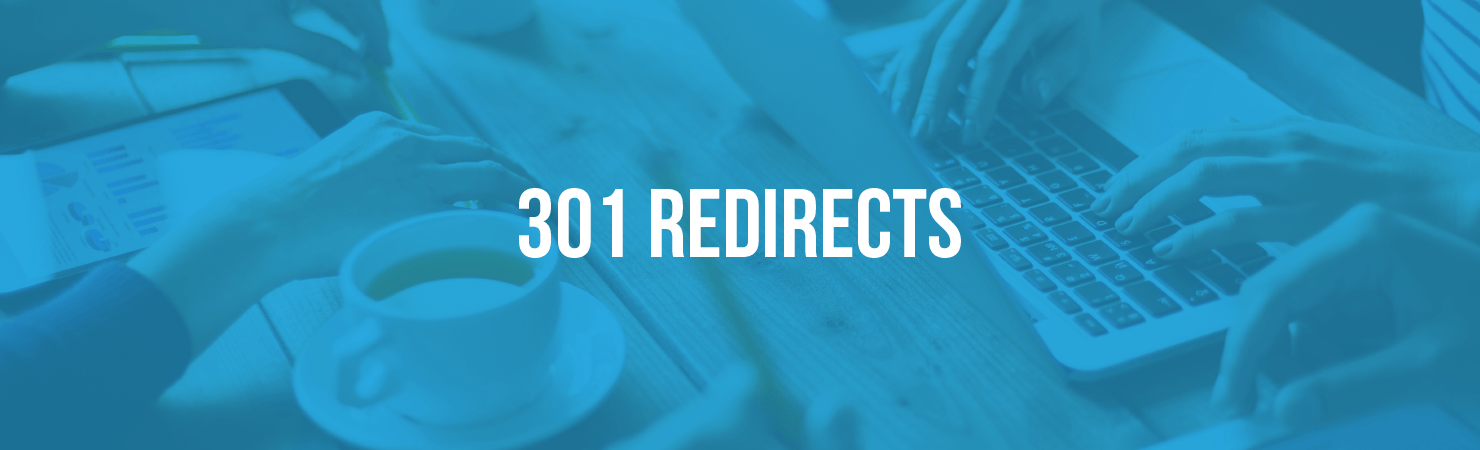 Plan and implement 301 redirects